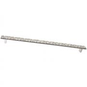 Ручка-скоба 320мм, отделка серебро 8.1037.0320.18