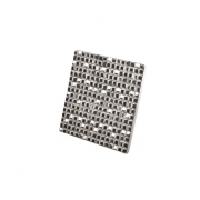 Ручка-кнопка 32мм, отделка серебро 8.1083.0032.18