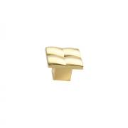 Ручка-кнопка, отделка золото глянец 8142/100
