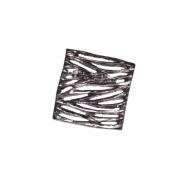 Ручка-кнопка, отделка никель глянец чёрный 24106.D500.G