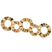 Ручка-скоба 128мм, отделка золото глянец WMN.608X.128.M00GP