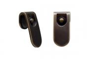 6190/811 Ручка-кнопка, отделка бронза индустриальная