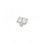 Ручка-кнопка, отделка никель глянец + перламутр 24299Z02700.32