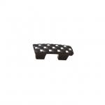 Ручка-скоба 32мм, отделка черный + горный хрусталь WPO.640X.032.MKRL8