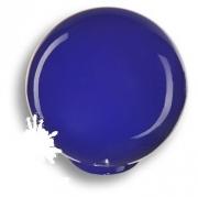 626AZ Ручка кнопка, выполнена в форме шара, цвет синий глянцевый