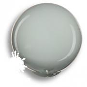 626GR Ручка кнопка, выполнена в форме шара, цвет серый глянцевый