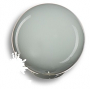 626GR1 Ручка кнопка, выполнена в форме шара, цвет серый глянцевый