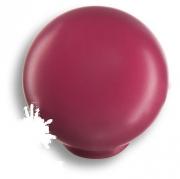 626MG Ручка кнопка, выполнена в форме шара, цвет малиновый глянцевый