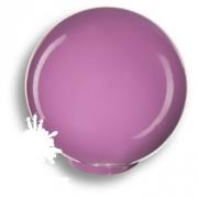 626MO Ручка кнопка, выполнена в форме шара, цвет фиолетовый глянцевый