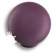 626MOX Ручка кнопка, выполнена в форме шара, цвет фиолетовый матовый
