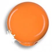 626NA Ручка кнопка, выполнена в форме шара, цвет оранжевый глянцевый