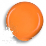 626NA2 Ручка кнопка, выполнена в форме шара, цвет оранжевый глянцевый