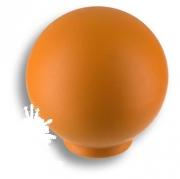 626NAX Ручка кнопка, выполнена в форме шара, цвет оранжевый матовый