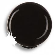 626NE Ручка кнопка, выполнена в форме шара, цвет черный глянцевый