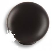 626NEX Ручка кнопка, выполнена в форме шара, цвет черный матовый