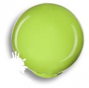 626PI Ручка кнопка, выполнена в форме шара, цвет фисташковый глянцевый
