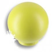 626PIX Ручка кнопка, выполнена в форме шара, цвет фисташковый матовый
