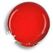 626RJ Ручка кнопка, выполнена в форме шара, цвет красный глянцевый
