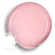 626RS Ручка кнопка, выполнена в форме шара, цвет розовый глянцевый