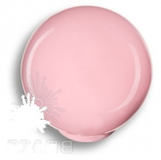 626RS1 Ручка кнопка, выполнена в форме шара, цвет розовый глянцевый