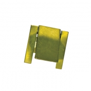Ручка-кнопка, отделка зеленая 216.958-6403