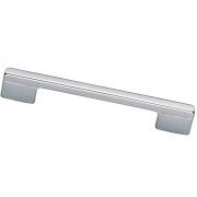 Ручка-скоба 224-192мм, отделка хром матовый лакированный 8.1012.224192.42