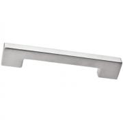 Ручка-скоба 128мм, отделка сталь шлифованная F102/E-CM