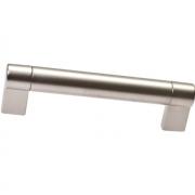 Ручка-скоба 128мм, отделка никель матовый 8.1033.0128.30-30