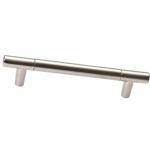 Ручка-скоба 448мм, отделка никель матовый 8.999.0448.30-30