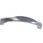 Ручка-скоба 128мм, отделка сталь шлифованная F107/E-CM