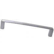 Ручка-скоба 192мм, отделка хром матовый лакированный 8.1020.0192.42