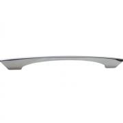 Ручка-скоба 160-128мм, отделка хром глянец 8.1085.160128.40