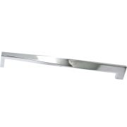 Ручка-скоба 128мм, отделка хром глянец F118/E-CR