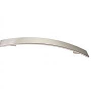 Ручка-скоба 320-288мм, отделка никель глянец шлифованный 8.1068.320288.34