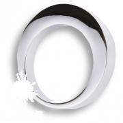 6530 0040 CR Ручка кнопка, глянцевый хром 16 мм
