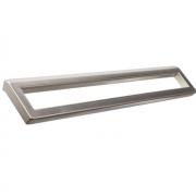 Ручка-скоба 160-128мм, отделка никель матовый 8.1022.160128.30