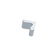 Ручка-кнопка, отделка хром глянец F505-CR