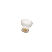 Ручка-кнопка, отделка никель матовый + транспарент матовый 10.783.B30-94
