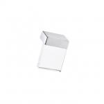 Ручка-скоба   16мм, отделка хром матовый + транспарент прозрачный 8.1063.0016.45-93