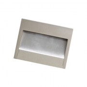 Ручка-скоба врезная, отделка сталь нержавеющая 12618.016S.36D
