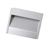 Ручка-скоба врезная, отделка алюминий 12639.033.25A