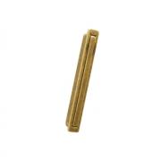 Ручка врезная, отделка бронза натуральная 8.1078.B000.29
