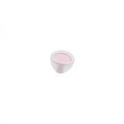 Ручка-кнопка, отделка транспарент матовый + розовый 10.816.B94-77