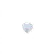 Ручка-кнопка, отделка транспарент матовый + светло-голубой 10.816.B94-0419