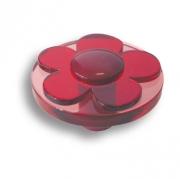 679RJ Ручка кнопка детская, цветок красный