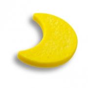 688AM Ручка кнопка детская, месяц желтый