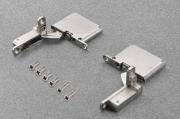 """CEL6XE9XXV Петля AIR Soft close 105"""", отделка никель (комплект: левая + правая + крепеж)"""