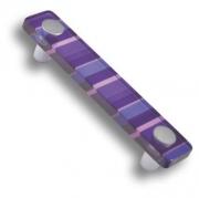 694MO Ручка скоба, цвет фиолетовый 96 мм