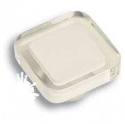 697BL5 Ручка-кнопка квадратная, белый
