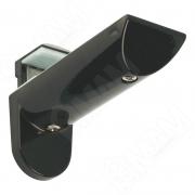 7033BP KAIMAN Менсолодержатель для деревянных и стеклянных полок 7 - 41 мм, черный (2 шт.)